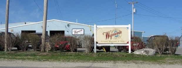 Jasper Wyman & Sons Blueberry Management Facility in Deblois near Route 193 (2013)