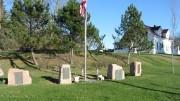 Veterans Memorial on Route 9 in Wesley (2013)