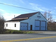 Old Wesley Volunteer Fire Department Building on Route 9 (2013)