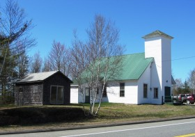 Crawford Bible Fellowship Church on Route 9 (2013)