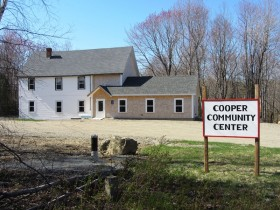 Cooper Community Center and Sign (2013)