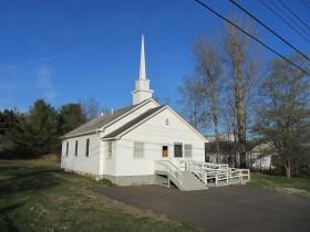 Brookton Pentecostal Church on U.S. Route 1