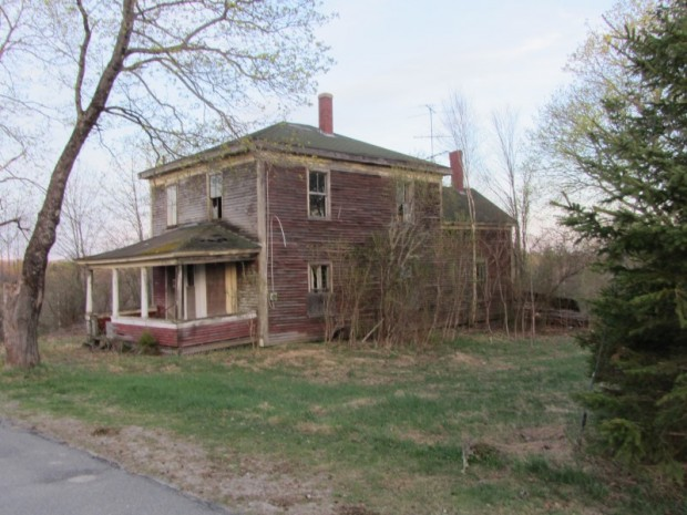 Abandoned House in Vanceboro on Hill Overlooking the Village (2013)
