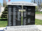 Princeton War Monument in Legacy Square (2013)