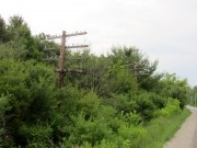 Old Utility Poles on Route 2 (2013)
