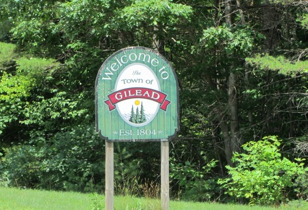 Sign: Welcome to The Town of Gilead (2013)