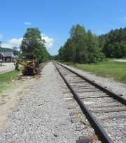 Rail Tracks in the Village (2013)