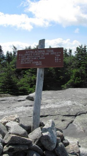 Baldpate East Peak 3812 FT (2013)
