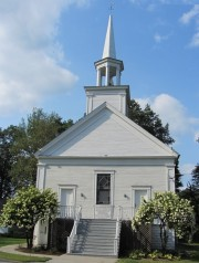 First Universalist Church of Turner Center on Route 117 (2013)