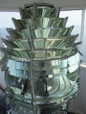 Fresnel Lens at Pemaquid Light (2013)