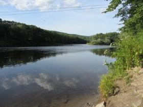 Androscoggin River near the Landing (2013)