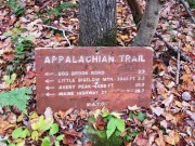 Southbound entrance to the Appalachian Trail (2013)