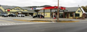 Stores and Gas Station (2013)