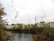 Rumford Paper Mill from Mexico (2013)