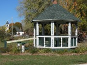 Gazebo in a small park in Canton Village (2013)