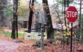 "Sign: ""Camp Wawenock"" (2013)"