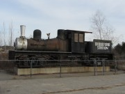 Locomotive at Biddeford Station Commerce Park (2013)