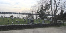Cemetery near First Congregational Church (2013)