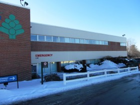 Penobscot Valley Hospital in Lincoln on High Street (Route 155) (2014)