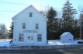 Grange Hall in East Lowell (2014)