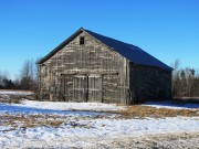 Old Barn on the Ridge Road in Burlington Village (2014)
