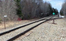 Railroad Siding in Crystal at the Cow Team Road (2014)