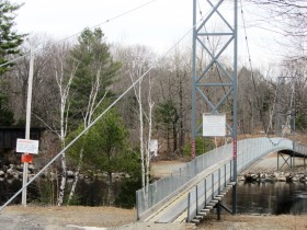 Recreational Bridge over the Waterway (2014)