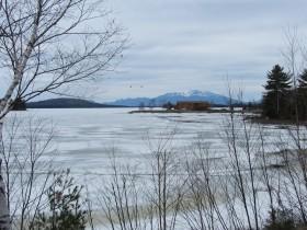 Mount Katahdin and Northern Twin Lake (2014)