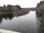 Pleasant River East Branch from Route 11 (2012)