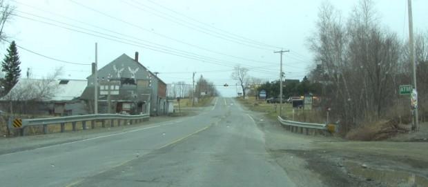 Sebec Corners on Route 16 in Sebec (2014)