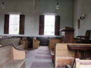 1855 Orrs Island Meetinghouse Interior (2014)