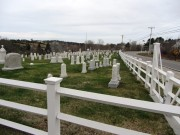 Cemetery at Orrs Island Meeting House (2014)