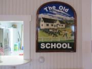 Old Orrs Island Schoolhouse Interior (2014)