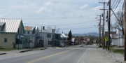 Downtown Jackman on U.S. Route 201 (2014)