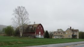 House and Barn on U.S. Route 2 in Dyer Brook (2014)