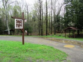Dyer Brook Picnic Area on U.S. Route 2 (2014)