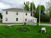 Veterans Memorial and Former Town Office (2014)