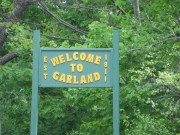 "sign: ""Welcome to Garland"" (2014)"