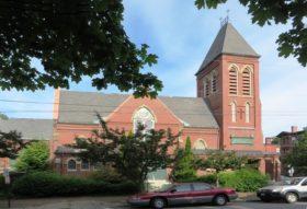 Williston-West Church and Parish House, 32 Thomas Street (2014)