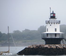 Spring Point Light in South Portland (2014)