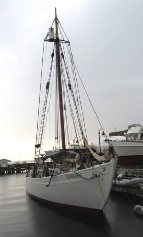 Schooner Bowdoin at Castine Waterfront (2014)