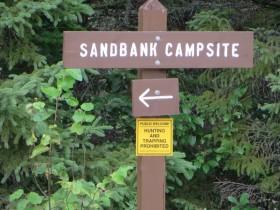 Sandbank Campsite (2014)