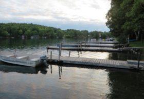 Pleasant Lake in Island Falls (2014)