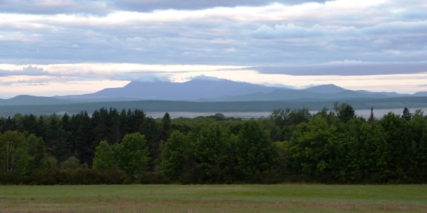 "A ""Lake"" of Fog under Katahdin (August 2014)"