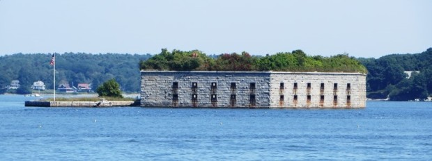 Fort Gorges in Casco Bay (2014)