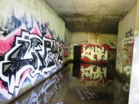 Graffiti in Battery Steele (2014)