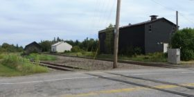 Railroad Tracks and Old Facilities (2014)