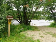 Boat Launch on Penobscot River East Branch of the at Lunk Soos Camps (2014)