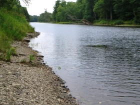 East Branch of the Penobscot River in T3 R7 WELS in the Maine woods (2014)