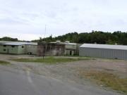Mill Buildings near Fish Stream in Patten (2014)